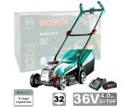 BOSCH ROTAK 32 Li-Ion (36В) (0600885D01) газонокосилка аккумуляторная