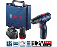Bosch GSR 120-LI ( 2*2,0 Ah) (12В)  (0.601.9G8.000) шуруповерт
