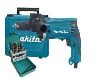 Makita HP1631KX2(710Вт)  дрель ударная